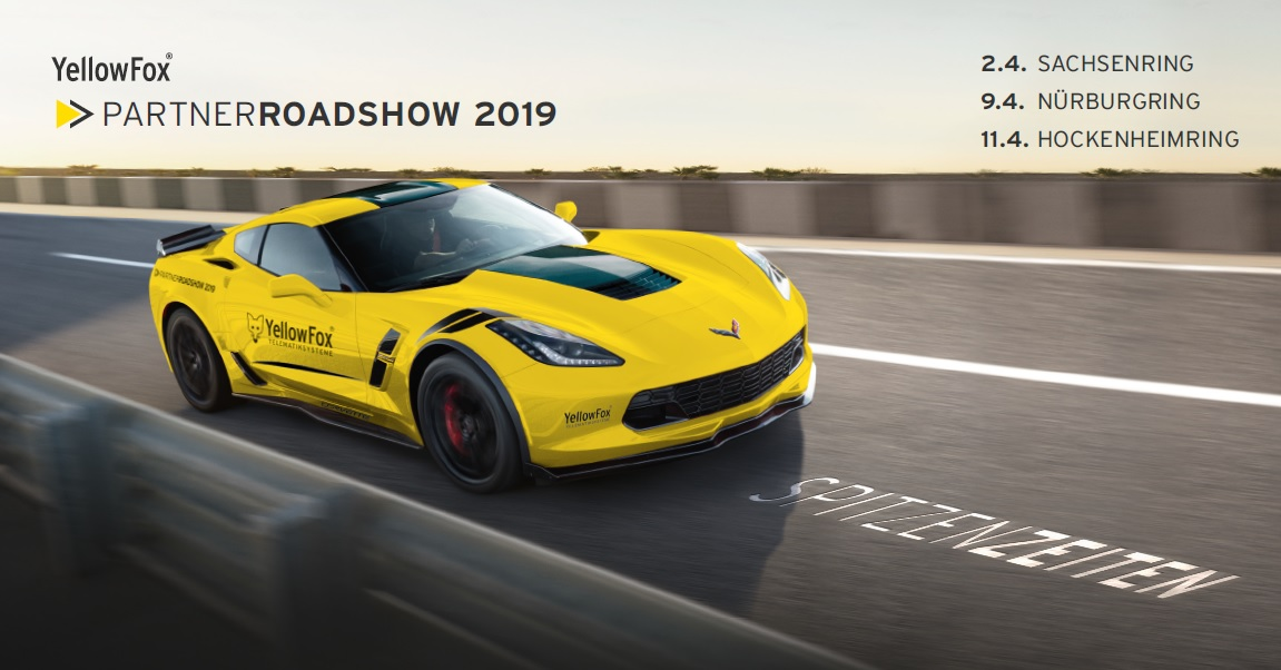 YellowFox Partnerroadshow 2019 - Westen
